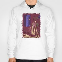 hallion Hoodies featuring You Comin' Blondie?  by Karen Hallion Illustrations