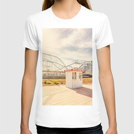 Abandoned Roller Coaster Daytona Florida T-shirt