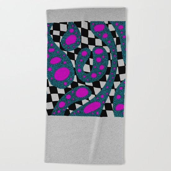 - cosmos_08 - Beach Towel