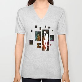 The invisible man... Unisex V-Neck