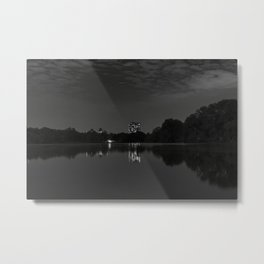 At The Lake In A City Park At Night, New York City (2020-10-GNY-243) Metal Print