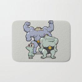 Pokémon - Number 66, 67 & 68  Bath Mat