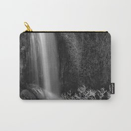 """""""Magic Waterfall"""" BW Carry-All Pouch"""
