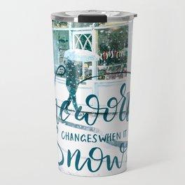 Snow Street Travel Mug