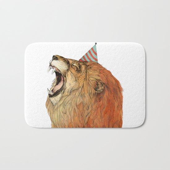 Birthday Lion Bath Mat