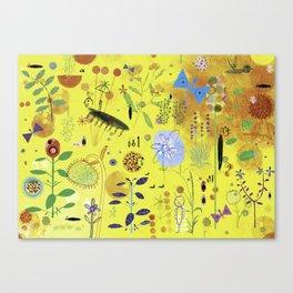 In a summer Garden Canvas Print