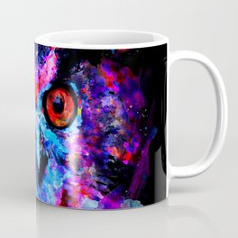 owl purple blue perfect Coffee Mug