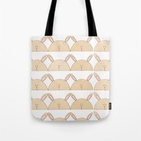 bears Tote Bags featuring BEARS by Ana Depuntillas