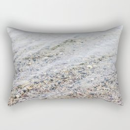 Clean Lake Water Rectangular Pillow