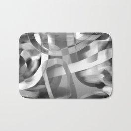 Jujube Stew -- grayscale Bath Mat