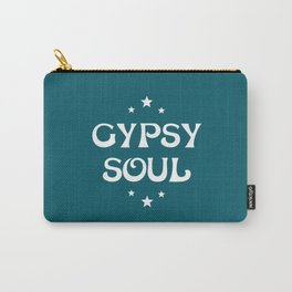 Gypsy Soul Mystical Stars Teal Carry-All Pouch