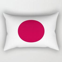 Flag of Japan, High Quality Image Rectangular Pillow