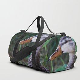 Mottled Duck Duffle Bag