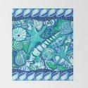 She Sells Sea Shells Blue by cschurr