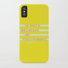 Puddle Wonderful iPhone Case