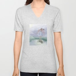 Little Witch in a Swamp Unisex V-Neck