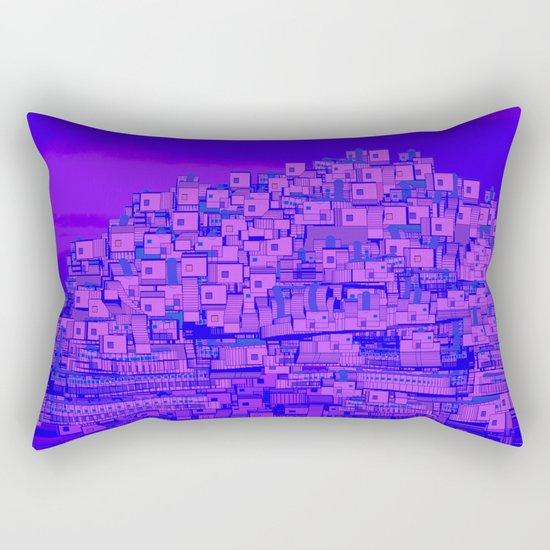 Dreaming Mediterranean Sunset Rectangular Pillow