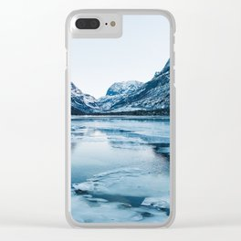 Winter in Innerdalen Clear iPhone Case