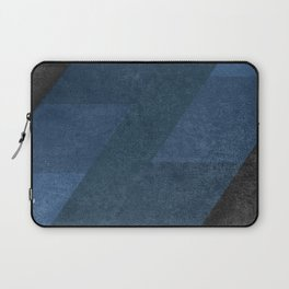Geometric - Blue Laptop Sleeve