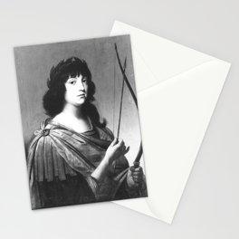 Gerard van Honthorst - Bildnis des Kronprinzen Karl Ludwig von der Pfalz als Apoll (1617-1680) Stationery Cards