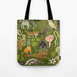 Rainforest citizens Tote Bag