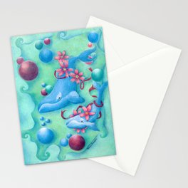 Right Whales/Flowers of the Seas Stationery Cards