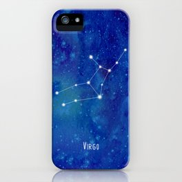 Constellation Virgo iPhone Case