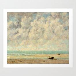 The Calm Sea - Gustave Courbet Art Print