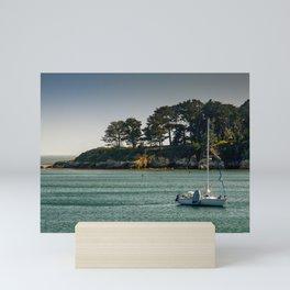 San Simeon Bay, San Simeon, California Mini Art Print