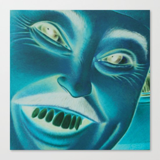 evil funny Canvas Print