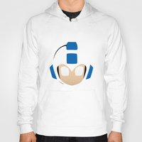 mega man Hoodies featuring Mega Man by Sport_Designs