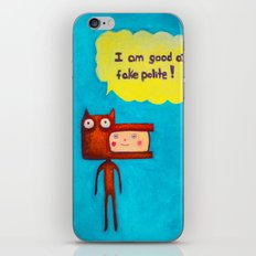 Wolfboy iPhone & iPod Skin