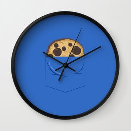 I AM THE COOKIE MONSTER Wall Clock