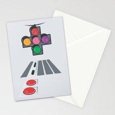 N Street Traffic Light Stationery Cards