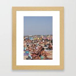 Beach Time 2! Framed Art Print
