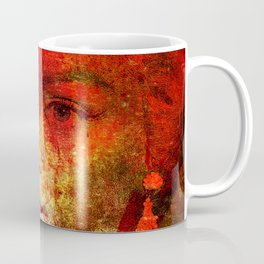 Marilyne behind the mirror Coffee Mug