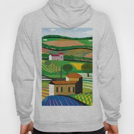Green Fields Hoody