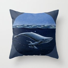 Space-Time Bubble Throw Pillow