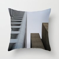 oakland Throw Pillows featuring oakland by jared smith
