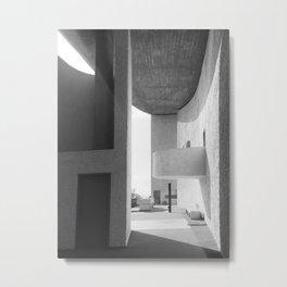 Ronchamp Chapel 001 Metal Print