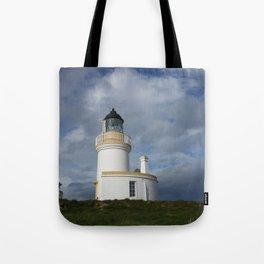 Chanonry Point Lighthouse, near Rosemarkie, Scotland Tote Bag