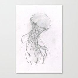 Wobbly Jellybubble Canvas Print
