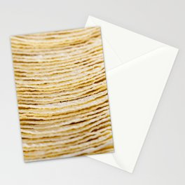 light-colored thin potato chips Stationery Cards