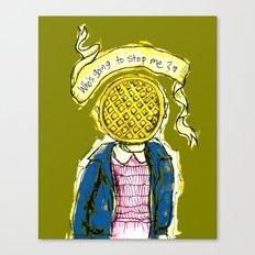 Be Brave Eleven - Eggo head Canvas Print
