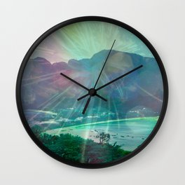 STAY FOREVER BAY Wall Clock