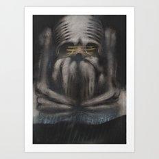 GHOST 7 Art Print