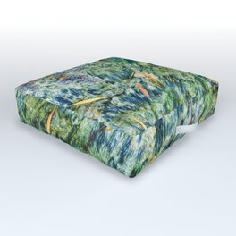 Ocean Life Abstract Outdoor Floor Cushion