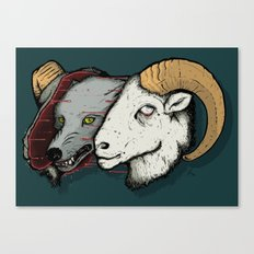 Sheep Skin Canvas Print