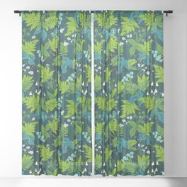 Magic Forest Sheer Curtain