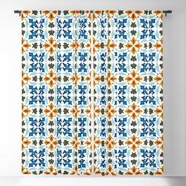 Mediterranean Tile 61 Blackout Curtain